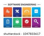 software engineering... | Shutterstock .eps vector #1047833617