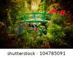 Lovely Monet Type Garden And...