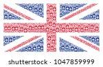 uk state flag concept organized ...   Shutterstock .eps vector #1047859999
