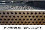 mechanical equipment  fin fan... | Shutterstock . vector #1047881245