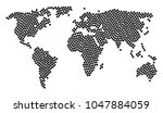international atlas mosaic... | Shutterstock .eps vector #1047884059