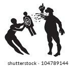 boss from hell | Shutterstock .eps vector #104789144
