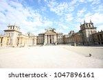 blenheim palace oxfordshire... | Shutterstock . vector #1047896161
