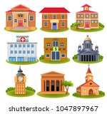 collection of important... | Shutterstock .eps vector #1047897967