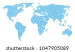 geographic atlas collage... | Shutterstock .eps vector #1047905089