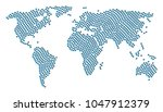 global geography map pattern... | Shutterstock .eps vector #1047912379