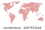 worldwide map composition... | Shutterstock .eps vector #1047923164
