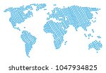 global map pattern done of...   Shutterstock .eps vector #1047934825