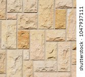 fragment of a wall from a... | Shutterstock . vector #1047937111