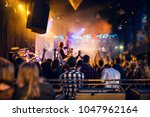 vip places during a concert in...   Shutterstock . vector #1047962164