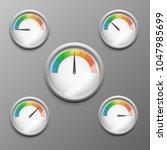 vector realistic 3d...   Shutterstock .eps vector #1047985699