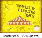 Happy Poster By World Circus...