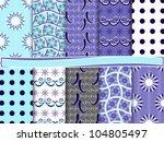 abstract vector set of... | Shutterstock .eps vector #104805497