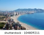 The City Benidorm On The Costa...