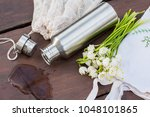 a look into zero waste... | Shutterstock . vector #1048101865