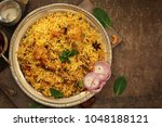 chicken kabsa   homemade... | Shutterstock . vector #1048188121