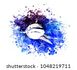 vector color illustration of a... | Shutterstock .eps vector #1048219711
