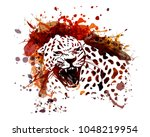 vector color illustration of... | Shutterstock .eps vector #1048219954