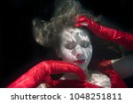 maddison powell underwater in... | Shutterstock . vector #1048251811