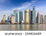 shanghai lujiazui financial and ... | Shutterstock . vector #104826689