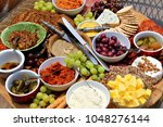 a delicious selection of cold... | Shutterstock . vector #1048276144