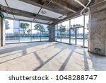 construction site building with ... | Shutterstock . vector #1048288747