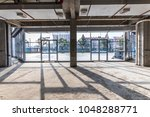construction site building with ... | Shutterstock . vector #1048288771