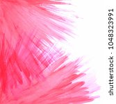 abstract watercolor stroke... | Shutterstock .eps vector #1048323991