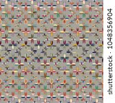 new color seamless pattern with ...   Shutterstock .eps vector #1048356904