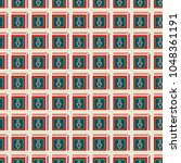 seamless abstract pattern with... | Shutterstock .eps vector #1048361191
