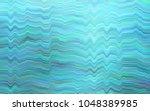 light blue vector pattern with... | Shutterstock .eps vector #1048389985