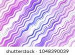 light pink  blue vector pattern ... | Shutterstock .eps vector #1048390039