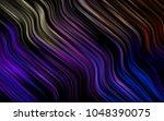 dark multicolor  rainbow vector ... | Shutterstock .eps vector #1048390075