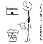 cartoon stick man drawing... | Shutterstock .eps vector #1048416949