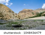 beautiful landscape and nature... | Shutterstock . vector #1048436479