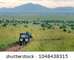 Africa Safari Jeep Driving On...