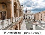 italy  loreto  ancona  17 march ... | Shutterstock . vector #1048464094