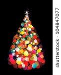 vector of christmas tree ...