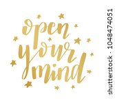 hand lettering typography...   Shutterstock .eps vector #1048474051