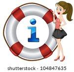 illustration of a cartoon...   Shutterstock .eps vector #104847635