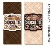 vector vertical banners for... | Shutterstock .eps vector #1048482301