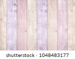 painted pastel wood background... | Shutterstock . vector #1048483177