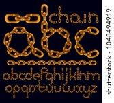 vector font  trendy typescript...   Shutterstock .eps vector #1048494919