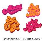 miami. san jose. san diego. los ... | Shutterstock .eps vector #1048556597