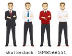 business men set | Shutterstock .eps vector #1048566551