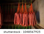 fresh and dried chinese... | Shutterstock . vector #1048567925