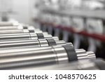 Lined Up Magnetic Cylinders Fo...