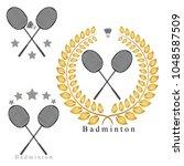 graphic illustration logo game... | Shutterstock . vector #1048587509