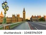 big ben in london at sunrise | Shutterstock . vector #1048596509
