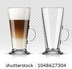 vector illustration of coffee... | Shutterstock .eps vector #1048627304